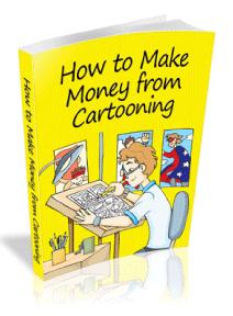 make money from cartooning